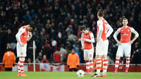 Chiến dịch Champions League 2015/16 của Arsenal: Không được nản lòng
