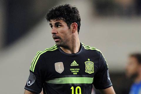 Costa trở lại ĐT Tây Ban Nha