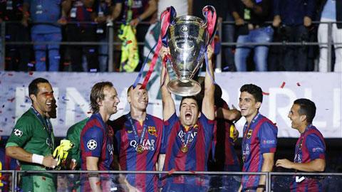 Barca phải đối diện với lịch sử: Chưa đội nào bảo vệ thành công chức vô địch Champions League