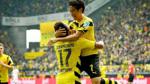"""Kagawa sẽ lại """"nổ súng"""" để giúp Dortmund giành chiến thắng thứ 8 liên tiếp ở mùa này"""