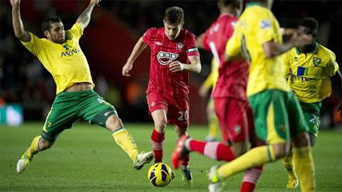 Southampton vs Norwich