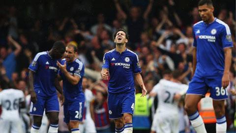 Chelsea bị Palace đánh bại ngay tại Stamford Bridge