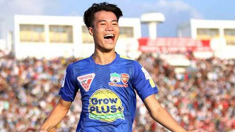 Văn Toàn có bàn thắng đầu tiên ở V.League trong sự nghiệp