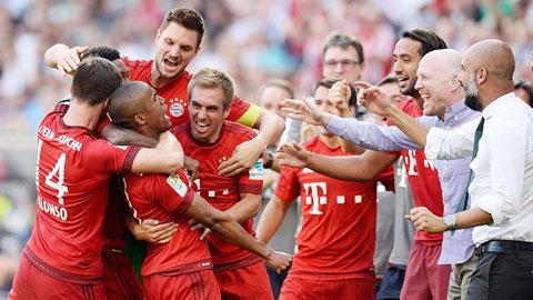 Chiến thắng 3-0 trước Leverkusen chứng tỏ Bayern vẫn vô đối ở Bundesliga