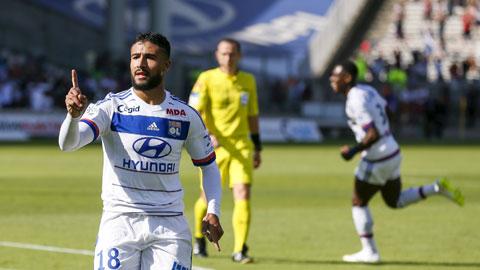 Fekir đã tra tấn hàng thủ Caen bằng một hat-trick