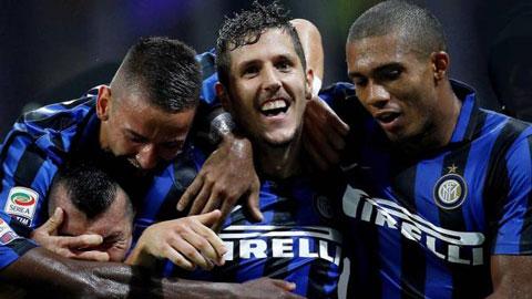 Jovetic là người hùng trong chiến thắng của Inter