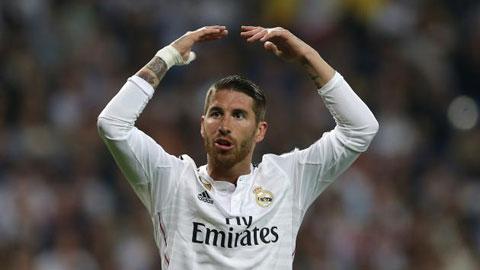 Ramos là cầu thủ người Tây Ban Nha duy nhất của Real được đá chính ở trận đấu với Betis