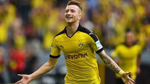 Reus giờ không còn phải chịu sức ép quá lớn ở Dortmund