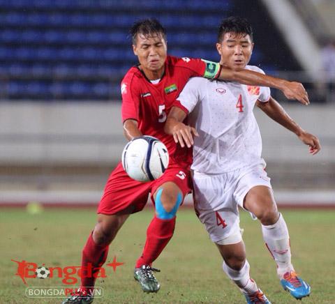 Trực tiếp U19 Việt Nam 0-0 U19 Myanmar...