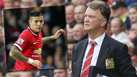 Đến lượt Rojo không được lòng Van Gaal