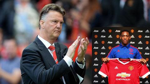 M.U chi 36 triệu bảng mua Martial: Canh bạc khó thắng của van Gaal