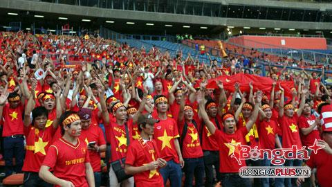 Hội CĐV Việt Nam họp mặt cổ vũ cho U19 Việt Nam