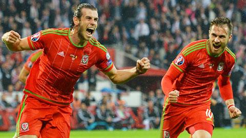 """Bale sẽ lại """"nổ súng"""" để giúp Xứ Wales tiến gần hơn tấm vé dự VCK EURO 2016"""