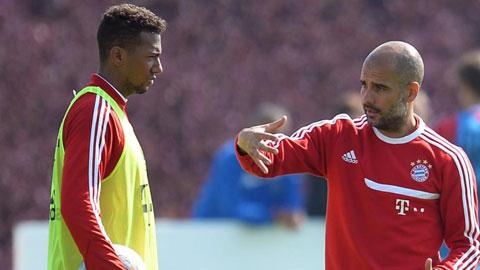 Boateng rất tôn trọng HLV Guardiola