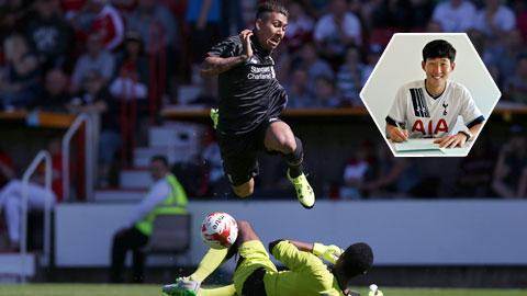 Các đội bóng Đức đã để mất ngôi sao khá dễ dàng mà điển hình là Leverkusen bán Son Heung-min (ảnh nhỏ)cho Tottenham hay Hoffeinhem để Firmino sang Liverpool