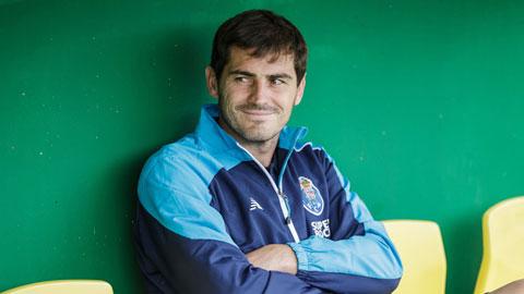 Casillas đang tận hưởng cuộc sống an nhàn thư thái tại Porto