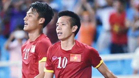 Hồng Quân và Văn Quyết là 2 trong số các tuyển thủ ĐT Việt Nam từng thua U22 Đài Loan (TQ) hồi năm 2012