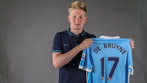 De Bruyne, bản hợp đồng đắt giá nhất giải Ngoại hạng Anh mùa Hè này