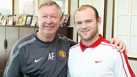 Phải rất vất vả, Sir Alex mới có thể mang về Rooney