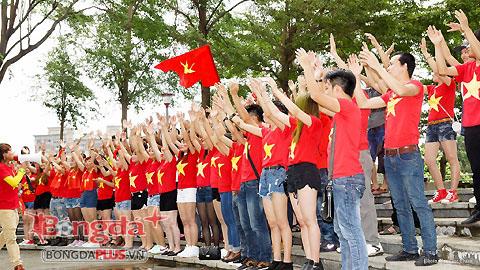 CĐV Việt Nam đã sẵn sàng biến sân Taipei Municipal thành chảo lửa Mỹ Đình