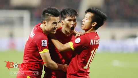 ĐT Việt Nam đã phải rất vất vả mới có thể giành được 3 điểm trước Đài Loan (TQ) - Ảnh: Đức Cường