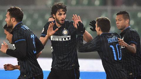 Dưới thời HLV Mancini, Inter rất thường xuyên lội ngược dòng ở những phút cuối