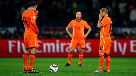 Hà Lan đang đứng trước nguy cơ phải làm khán giả ở EURO 2016