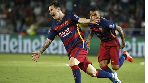 Messi được Barca trả 20 triệu euro/mùa
