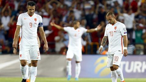 Hà Lan không có một thế hệ kế thừa những Van Persie, Robben, Sneijder…