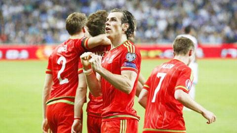 Bale vừa tỏa sáng ở ĐT Xứ Wales trong khi Ronaldo vẫn gây thất vọng