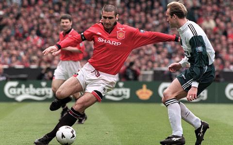 Cantona biết cách tỏa sáng kịp lúc để giúp M.U giành chiến thắng