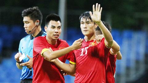 Hồng Quân (17) là cầu thủ Việt kiều hiếm hoi tỏa sáng trong màu áo tuyển Việt Nam