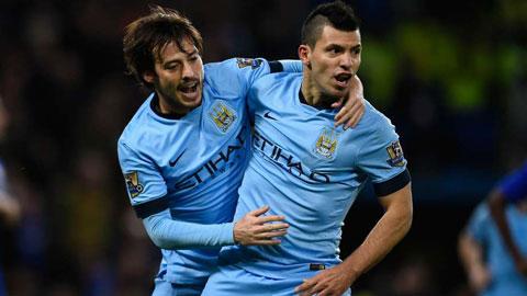 Man City đang dẫn đầu cuộc đua vô địch một cách thuyết phục