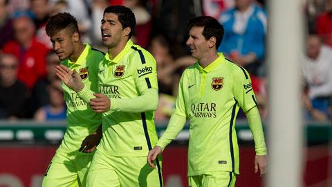 Bộ ba M-S-N của Barca