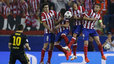 Barca và Atletico đang sở hữu những hàng phòng ngự mạnh nhất châu Âu
