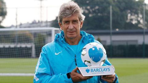 Pellegrini giành danh hiệu HLV xuất sắc nhất tháng 8