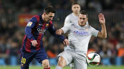 Sẽ rất khó để Messi và đồng đội vượt qua được Atletico trên sân Vicente Calderon