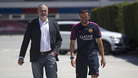 Barca đã không nhìn nhận đúng những đóng góp của Zubizarreta khi ông làm GĐTT tại Nou Camp