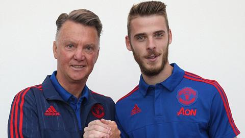 De Gea có cơ hội bắt chính sau khi ký hợp đồng mới với M.U