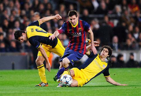 Atletico không phải đối thủ dễ bị bắt nạt