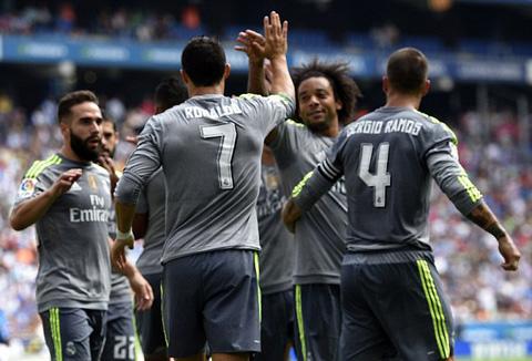 Ronaldo đã tận dụng tốt mọi cơ hội có được để chuyển hóa thành bàn thắng