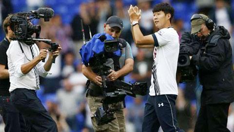 """Son Heung-min được kỳ vọng sẽ """"nổ súng"""" cho Tottenham ở sân The Light"""