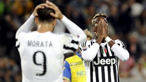 Pogba cũng không thể giúp Juve có 3 điểm