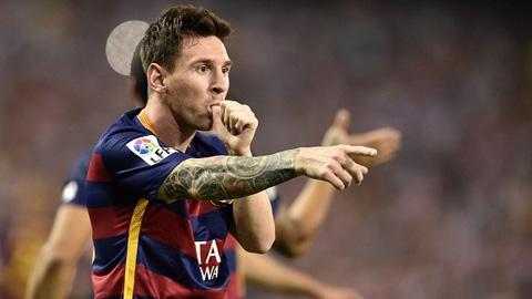 Messi đã tỏa sáng giúp Barca có chiến thắng quan trọng trước Atletico