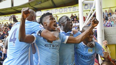 Chiến thắng trước Crystal Palace cho thấy bất cứ ai ở Man City cũng có thể tỏa sáng