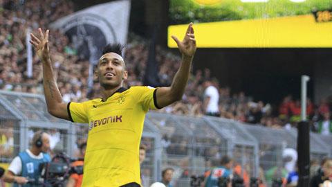 Aubameyang đã có 5 bàn thắng sau 4 trận tại Bundesliga mùa này