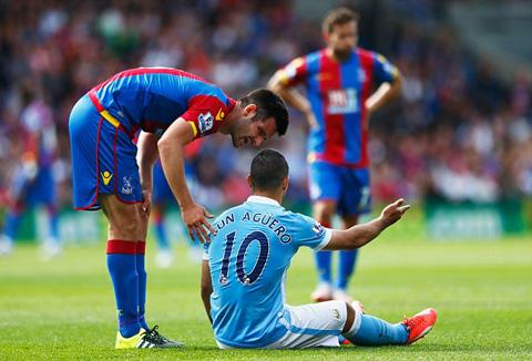 Aguero không chắc kịp bình phục ở trận đấu với Juventus