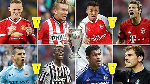 Vòng bảng Champions League mùa này chứng kiến nhiều cuộc tái ngộ