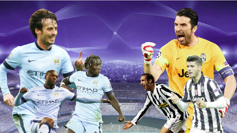 Man City vs Juventus