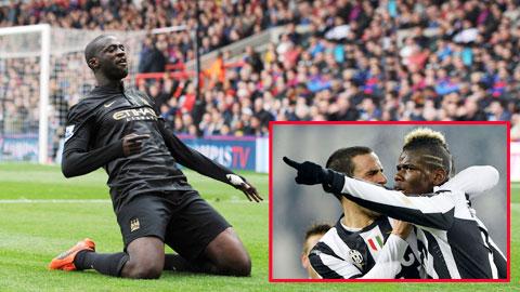 Yaya Toure vs Paul Pogba: Toure đại chiến… Toure